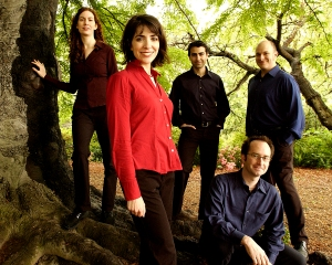 Monika Jalili and her Persian music group Noorsaaz.