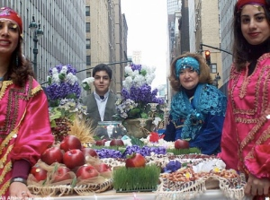 Nowrouz Parade in New York City (click on the link above to see more photos from the event).