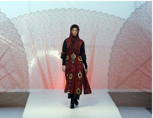 Tehran fashion show.