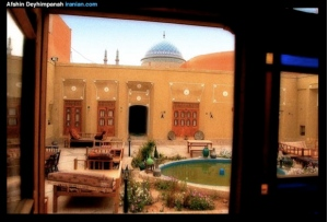 A beautiful garden in the city of Yazd, Iran (image courtesy of Afshin Deyhimpanah www.iranian.com).