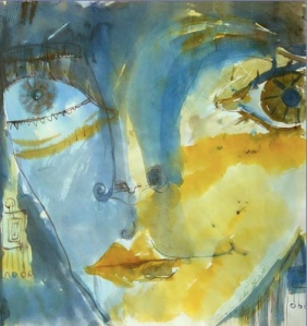 A painting by Nilufar Baghaei (click on the link to the left for more!).