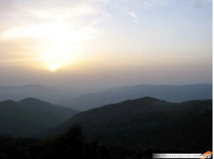 A beautiful shot of the sunrise in Northern Iran (see the link below for many more pictures).