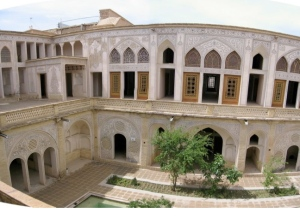 Tabatabai House in Kashan, Iran.