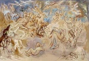 Seroge Barseghian Painting