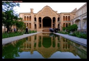 Fin Garden in Kashan, Iran (image courtesy of Afshin Deyhim www.iranian.com).