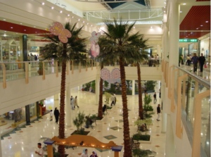 A large mall on Kish Island.