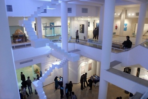 The Art Gallery in modern Tehran (click the link at the end of window for more pictures).