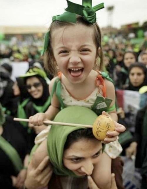 With all of the shocking, bloody, and disturbing pictures and video coming out of Iran right now, I decided I wanted to leave you with a more hopeful one tonight!