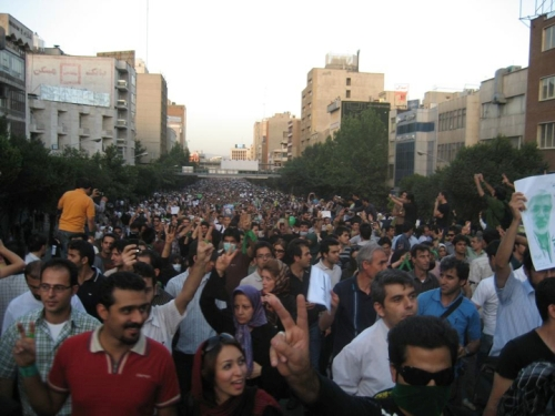 Extremely large crowds continue to protest the election in Iran. In fact, reports now put last Friday's protest at over one million!